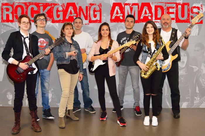 Rock gang amadeus